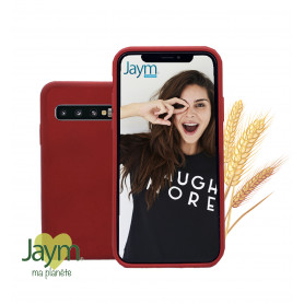 COQUE ECO-FRIENDLY ROUGE POUR SAMSUNG GALAXY S10 PLUS - JAYM®