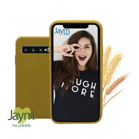 COQUE ECO-FRIENDLY JAUNE POUR SAMSUNG GALAXY S10 PLUS - JAYM®