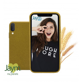 COQUE ECO-FRIENDLY JAUNE POUR SAMSUNG GALAXY A40 - JAYM®
