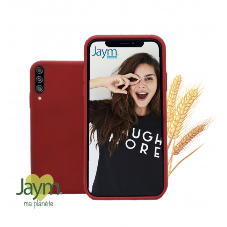 COQUE ECO-FRIENDLY ROUGE POUR SAMSUNG GALAXY A30S / A50S / A50 - JAYM®