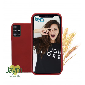 COQUE ECO-FRIENDLY ROUGE POUR SAMSUNG GALAXY A71- JAYM®