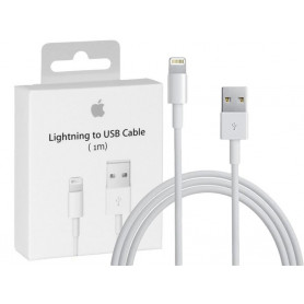 CABLE CHARGE ET SYNCHRO USB VERS LIGHTNING 1M ORIGINE APPLE