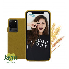 COQUE ECO-FRIENDLY JAUNE POUR SAMSUNG GALAXY S20 ULTRA - JAYM®