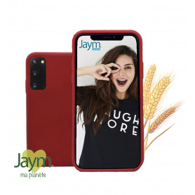 COQUE ECO-FRIENDLY ROUGE POUR SAMSUNG GALAXY S20 - JAYM®