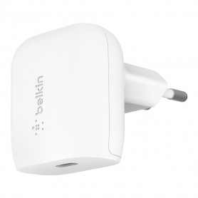 CHARGEUR SECTEUR POWER DELIVERY 18W USB-C BLANC - BELKIN