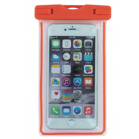 ETUI ETANCHE IPX8 IMMERSION 10 METRES - TAILLE UNIVERSELLE - ORANGE