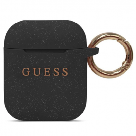 ETUI SILICONE NOIR GUESS POUR APPLE AIRPODS - GUESS®