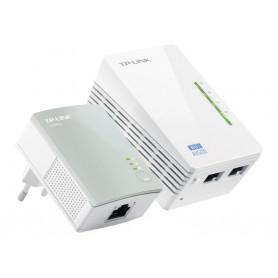 KIT CPL TP-LINK AV500 500Mbs POWERLINE + PRISE + ROUTEUR WIFI 300mbs