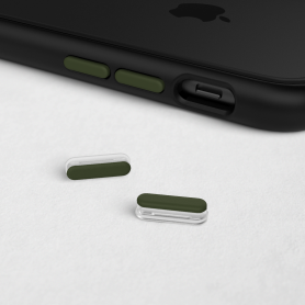 KIT DE BOUTONS KAKIS ADAPTABLES SUR MOD NX™ ET SOLIDSUIT™ POUR APPLE IPHONE - RHINOSHIELD™