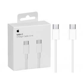 CABLE CHARGE RAPIDE ET SYNCHRO USB-C VERS USB-C 2M ORIGINE APPLE