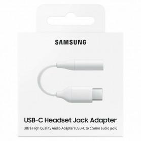 ADAPTATEUR USB-C VERS JACK 3.5MM ORIGINE SAMSUNG