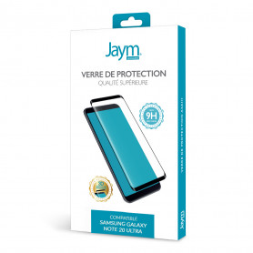 VERRE TREMPE PREMIUM ASAHI 3D POUR SAMSUNG GALAXY NOTE 20 ULTRA - JAYM®