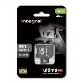CARTE MEMOIRE MICRO SDHC ULTIMA PRO CLASS 10 - 8GB - INTEGRAL