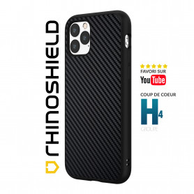 COQUE SOLIDSUIT FIBRE DE CARBONE VERITABLE POUR APPLE IPHONE 12 MINI (5.4) - RHINOSHIELD™