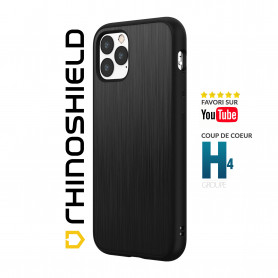 COQUE SOLIDSUIT MÉTAL BROSSÉ POUR APPLE IPHONE 12 MINI (5.4) - RHINOSHIELD™