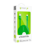 CABLE 1,5M CHARGE & SYNCHRO MICRO-USB LED INTELLIGENT VERT GREEN-E