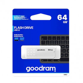 CLE USB PENDRIVE UME2 64GB BLANCHE