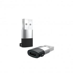 MINI ADAPTATEUR USB-C FEMELLE VERS USB-A MALE