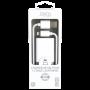 PACK CHARGEUR SECTEUR 1 USB 2.4A + CABLE USB VERS LIGHTNING 1.5M BLANCS - JAYM® COLLECTION POP