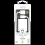 PACK CHARGEUR SECTEUR 1 USB 2.4A + CABLE USB VERS USB-C 1.5M BLANCS - JAYM® COLLECTION POP