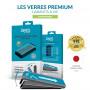 VERRE TREMPE PREMIUM 2.5D AVEC APPLICATEUR POUR APPLE IPHONE 6+ / 6S+ / 7+ / 8+ - JAYM®