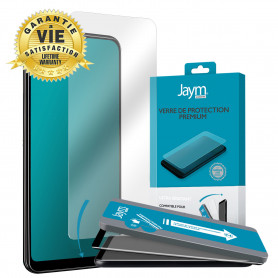VERRE TREMPE PREMIUM 2.5D AVEC APPLICATEUR POUR APPLE IPHONE 12 / 12 PRO (6.1) - JAYM®