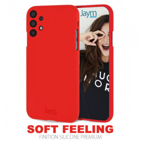 COQUE PREMIUM SOFT FEELING COMPATIBLE SAMSUNG GALAXY A32 5G ROUGE