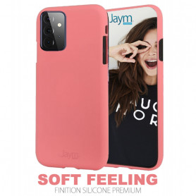 COQUE PREMIUM SOFT FEELING COMPATIBLE SAMSUNG GALAXY A72 5G ROSE