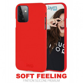 COQUE PREMIUM SOFT FEELING COMPATIBLE SAMSUNG GALAXY A72 5G ROUGE