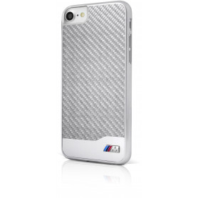 COQUE COMPATIBLE APPLE IPHONE X / XS CARBONE ALU - BMW COLLECTION M