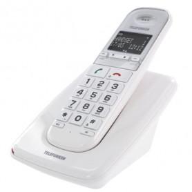 DECT TELEFUNKEN TD 301 PILLOW SOLO 1 POSTE BLANC