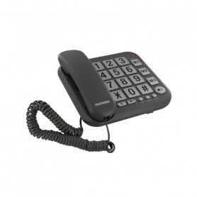 POSTE SENIOR TELEFUNKEN COSI TF 401 FILAIRE GRIS