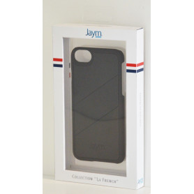 COQUE PREMIUM MADE IN FRANCE COMPATIBLE APPLE IPHONE X / XS JAYM - NOIR FULL BLACK