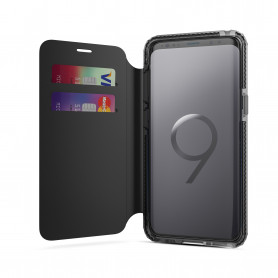 ETUI FOLIO SOSKILD ULTRA RESISTANT NOIR COMPATIBLE SAMSUNG S9