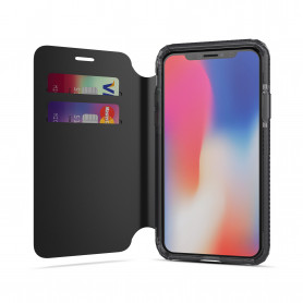 ETUI FOLIO SOSKILD ULTRA RESISTANT NOIR COMPATIBLE APPLE IPHONE X / XS