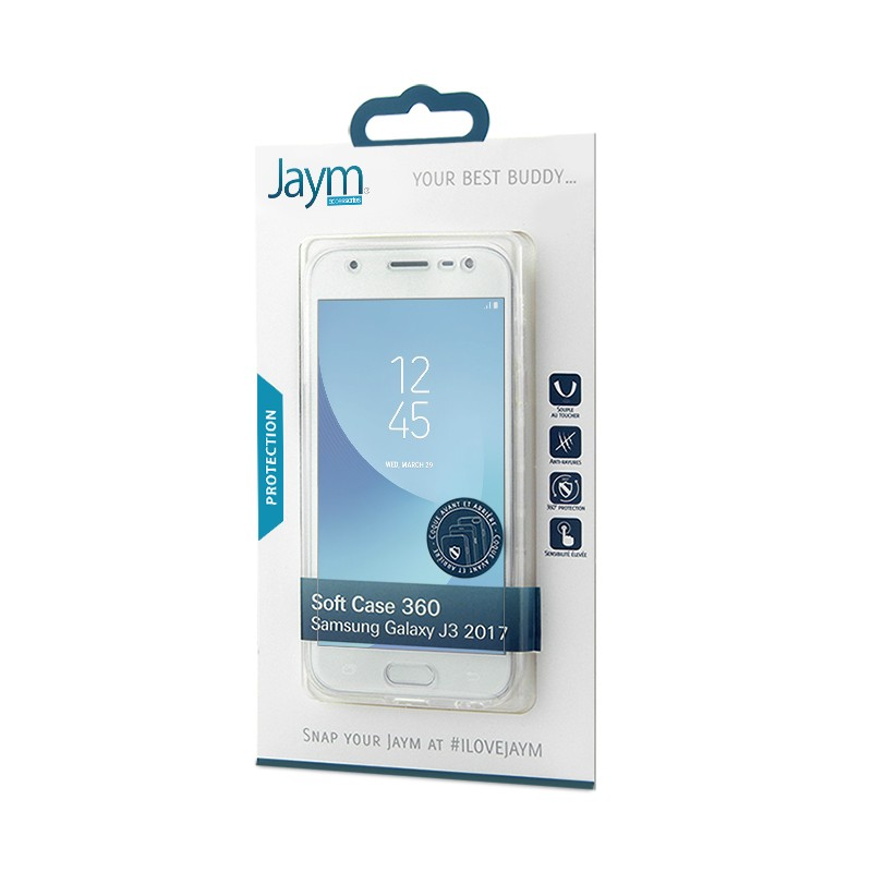 COQUE SOUPLE 360 JAYM COMPATIBLE SAMSUNG GALAXY J3 2017