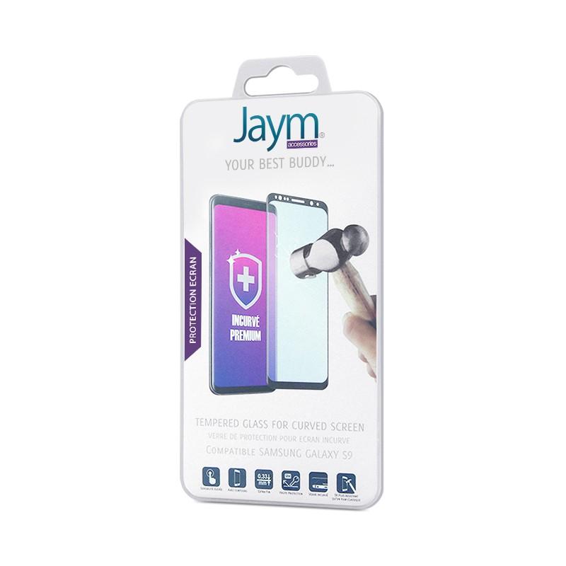JAYM Produits Jaym JMTGC0015. Envoyer cette fiche par Email. JAYM. FILM  ECRAN VERRE TREMPE INCURVE CONTOUR NOIR JAYM COMPATIBLE SAMSUNG GALAXY S9. Plus  d  ... 8f26352284a4