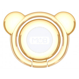 TEDDY RING ANNEAU POUR SMARTPHONE OR MOB