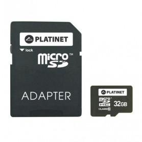 CARTE MEMOIRE MICRO SDHC CLASS 10 - 32GB - PLATINET