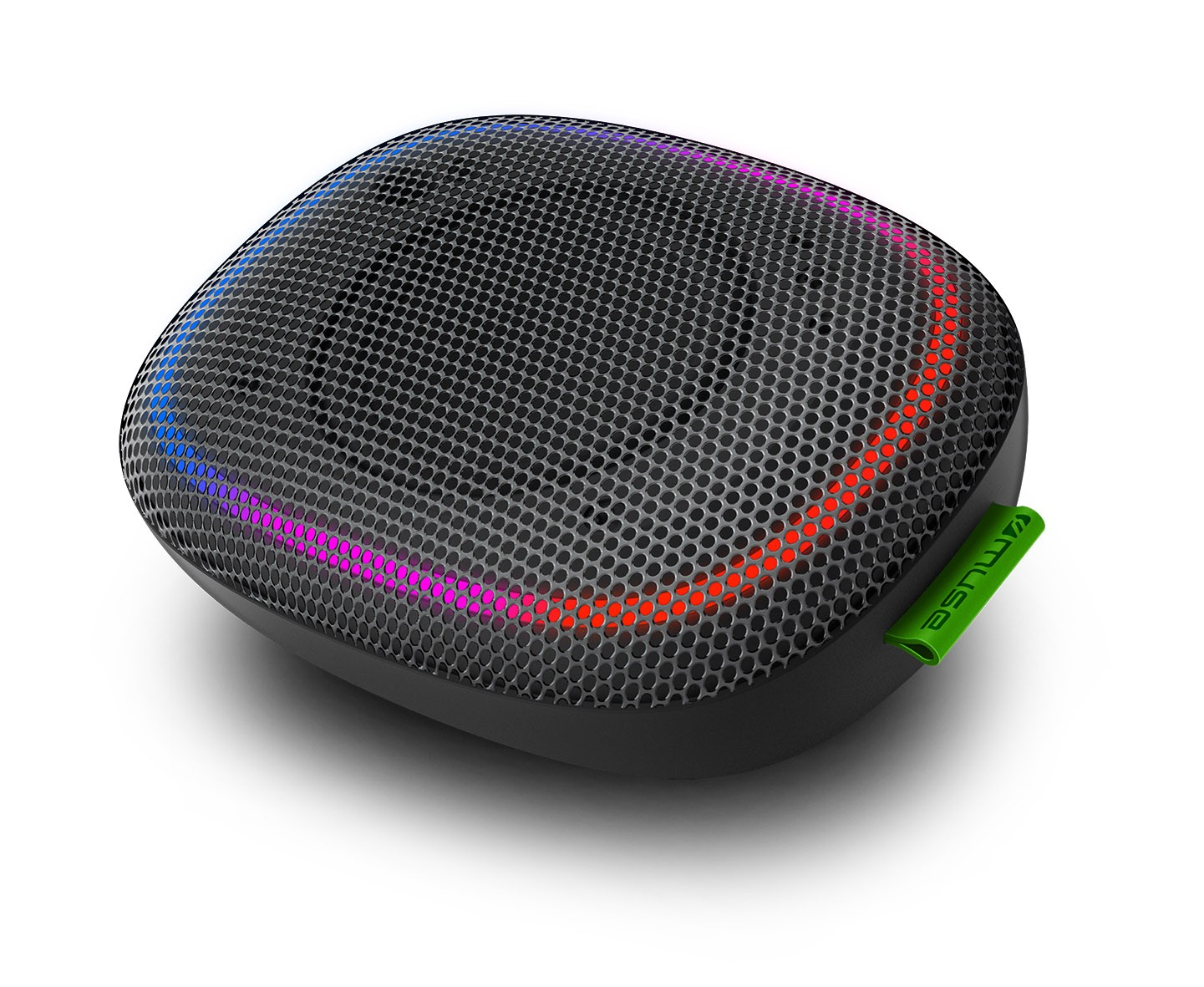 ENCEINTE BLUETOOTH PORTABLE 5W + LUMIERE AMBIANCE - MUSE