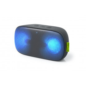ENCEINTE BLUETOOTH PORTABLE STEREO 2 x 3W + LUMIERE AMBIANCE - MUSE