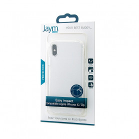 COQUE RENFORCEE TRANSPARENTE JAYM COMPATIBLE APPLE IPHONE X / XS