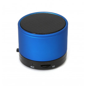 MINI ENCEINTE BLUETOOTH 3W BLEUE
