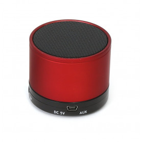 MINI ENCEINTE BLUETOOTH 3W ROUGE