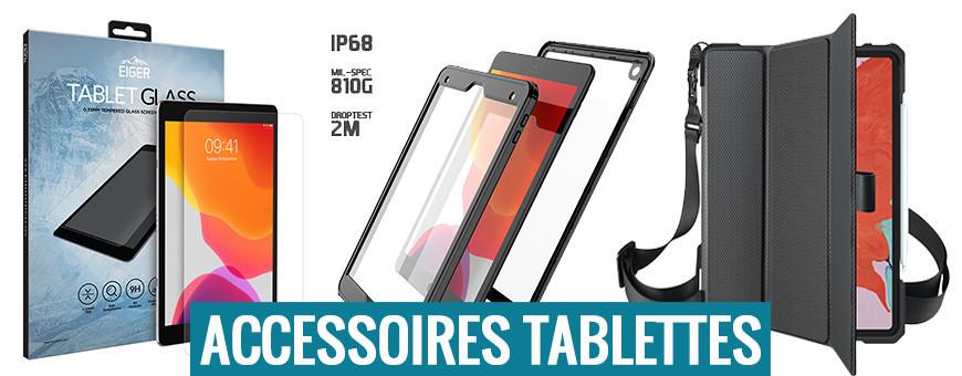 Accessoires de protection pour tablettes