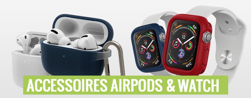 Accessoires pour Airpods et Apple Watch